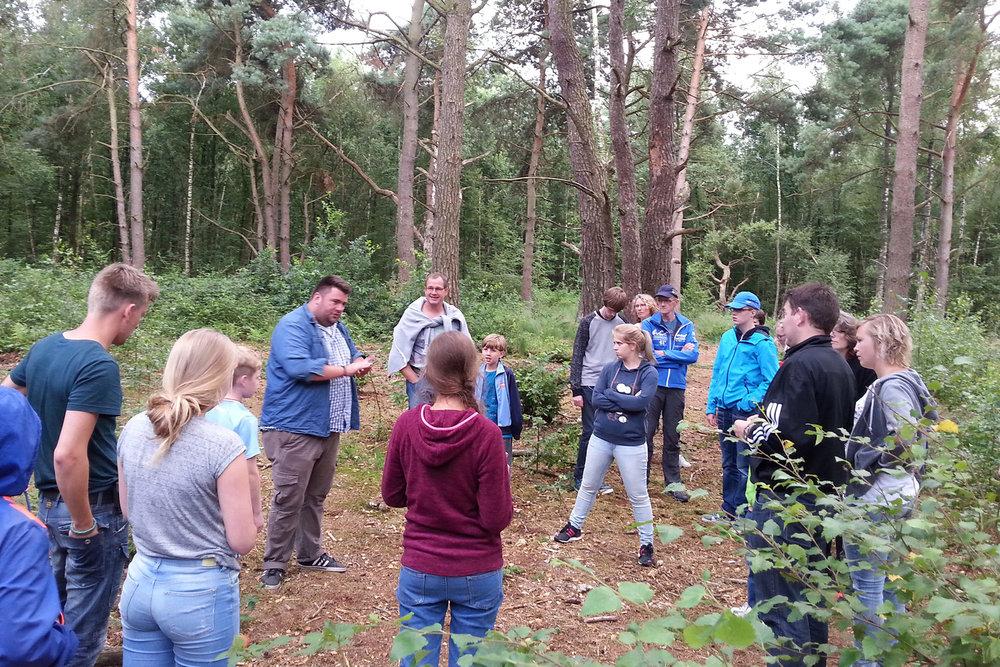 De Sprinkhaan: Bosrijke omgeving